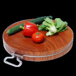 nbsp;蚬木菜板是用亚热带乔木植物枧木制成的菜板,产于中国、越南、老挝。其韧性强、耐腐蚀、抗菌、