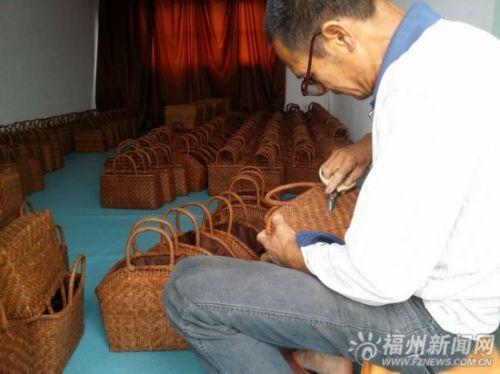 手工藤编包成日本奢侈品 单个最高卖到2万人民币