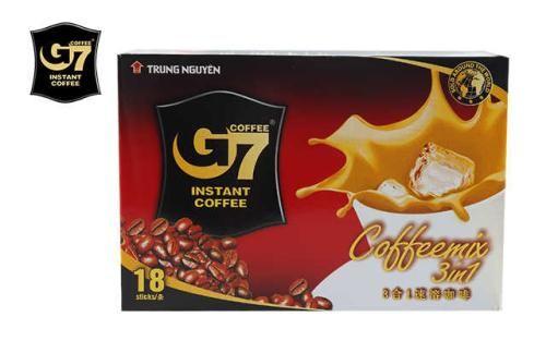 nbsp; G7 3合1速溶咖啡为越南中原咖啡公司出品,很香很浓郁的牛奶香味,G7咖啡是越南市场上唯一的wh
