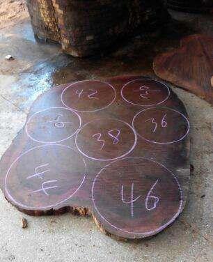 如何辨真假越南砚木砧板