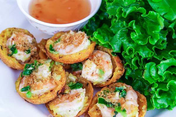越南咸味迷你煎饼