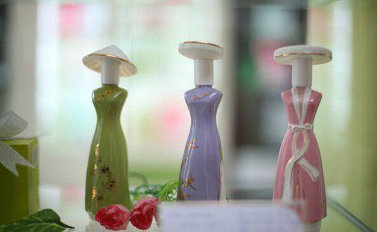 越南香水瓶的设计理念