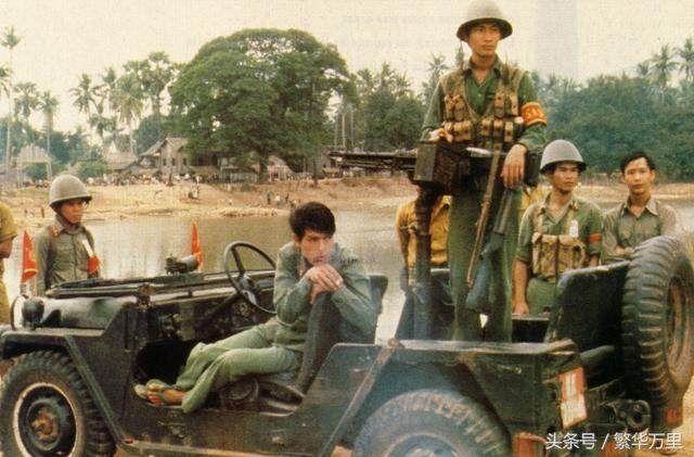 注意上边这张图片,这张照片拍摄于80年代初期。这自然是越南军队,这是毋庸置疑的。但是有一个问题出现了,