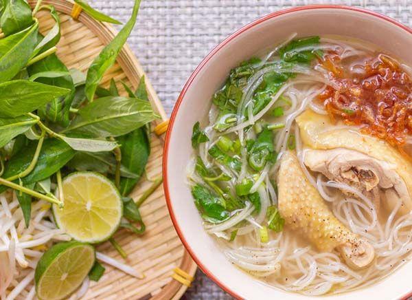 越南鸡肉面的做法