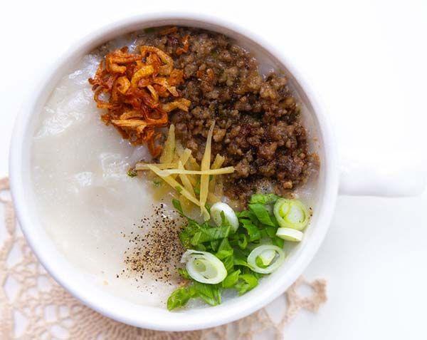 越南瘦肉粥的做法