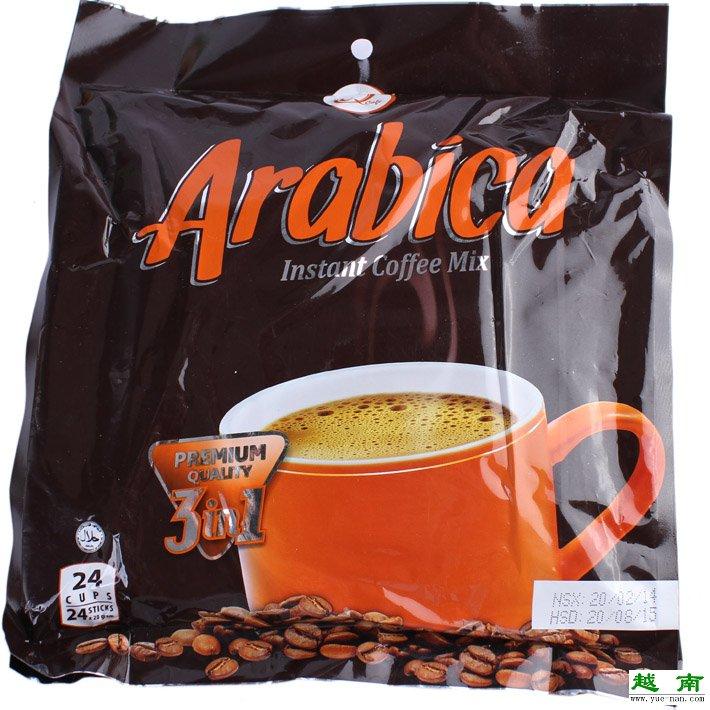 【越南特产】越南香浓Q牌阿拉比卡咖啡 三合一速