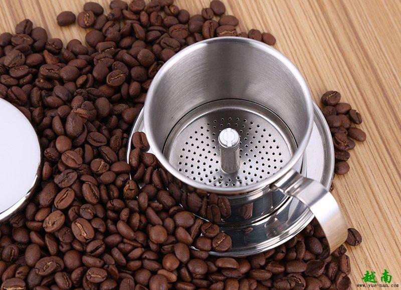 越南西贡法式咖啡滴漏壶的作用体现在哪?