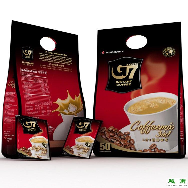 【越南咖啡】越南进口 中原G7 三合一咖啡