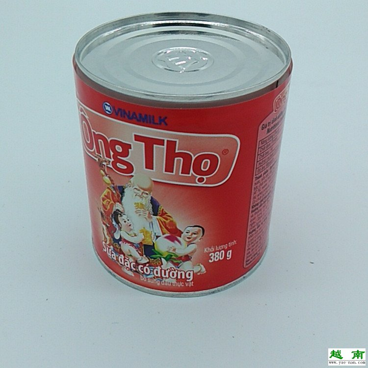 越南炼乳vinamilk越南进口特产寿星公炼乳