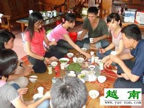 yuenan人吃饭用筷子吗?